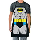 ICUP DC Comics - Batman The Character Adult Size 100% Cotton Adjustable Black Apron