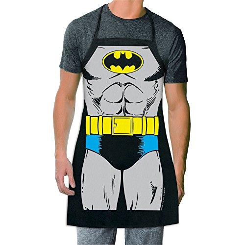 ICUP DC Comics - Batman The Character Adult Size 100% Cotton Adjustable Black Apron
