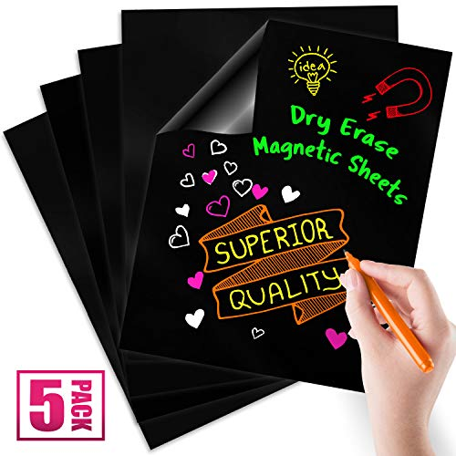 (Magnetic Dry Erase Sheets | Blank 12