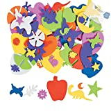 Bargain World Self-Adhesive Shape Assortment (With Sticky Notes)
