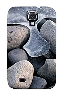 Crazinesswith FpwIYMP744MpRnu Case Cover Skin For Galaxy S4 (frozen Waves Around The Pebbles)/ Nice Case With Appearance