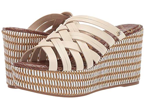 (Sam Edelman Women's Devon Sandal, Modern Ivory Leather, 9.5 M US)