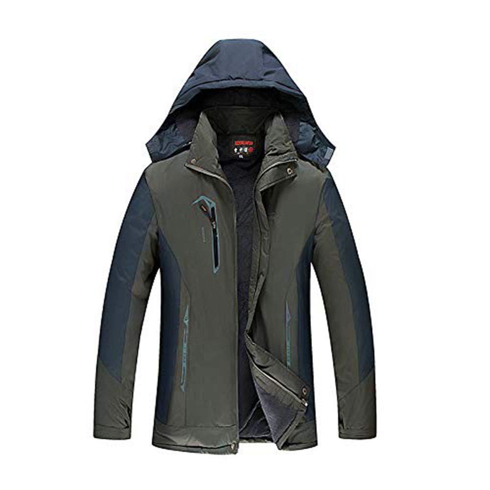ad2d305ba30 Malloom Chaqueta de la chaqueta de los hombres Invierno informal Espesar  Fleece acolchado chaqueta a prueba de viento  Amazon.es  Ropa y accesorios