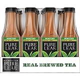 Pure Leaf Iced Tea, Unsweetened Lemon, Real Brewed Black Tea, 0 Calories, 18.5 Ounce (Pack of 12)