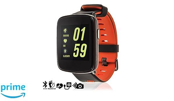 Silica DMX031RED DMX031RED - Smartwatch gv68 con podómetro ...