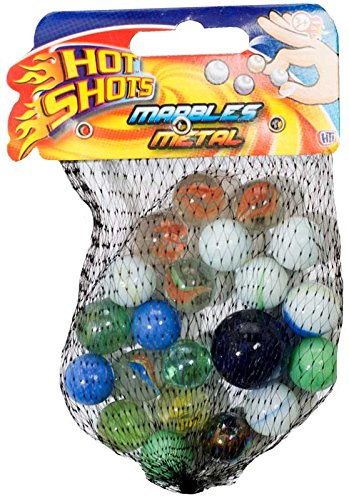 Hot Shot Assorted Size Metallic Marbles Hot Shots TP231
