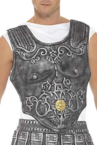 Smiffys 21993 Roman Armour Breastplate Grey