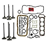 #10: Diamond Power Full Gasket Intake & Exhaust Valves works with Nissan 2.4 L Z24 SOHC