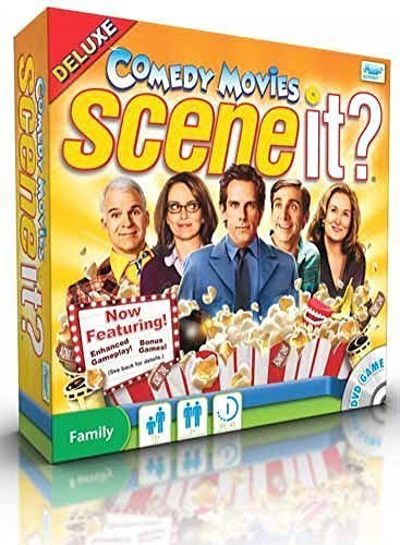 Scene It? Comedy Movies Deluxe Edition by Scene It