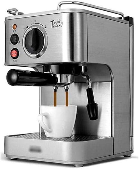 QSM Cafetera, Taza de la Máquina, Frijoles Espresso, Café de la Máquina con Leche, Burbujeador, Cafetera,Plata,UNA: Amazon.es: Deportes y aire libre