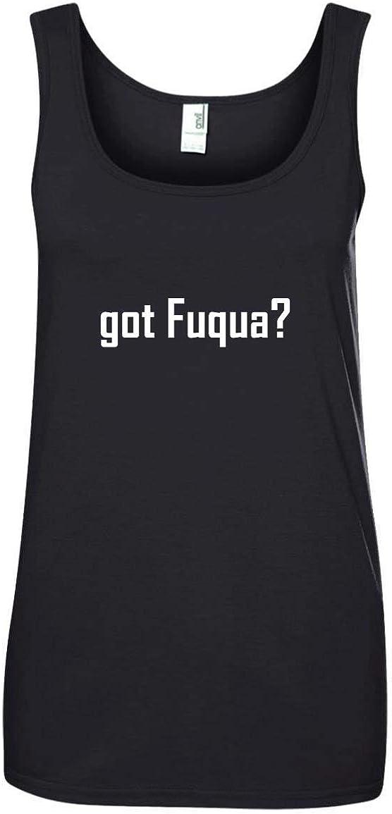 A Soft /& Comfortable Womens Ringspun Cotton Tank Top CHICKYSHIRT got Fuqua?