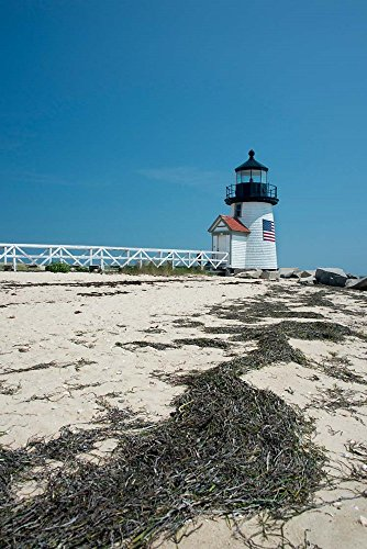 - Nantucket Brant Point Lighthouse, Massachusetts by Cindy Miller Hopkins/Danita Delimont Art Print, 20 x 30 inches