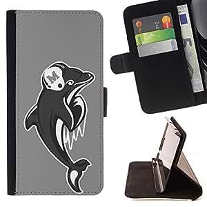 For LG G3 Case , Miami Dolphin Fútbol- la tarjeta de Crédito Slots PU Funda de cuero Monedero caso cubierta de piel