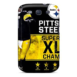 Samsung Galaxy S3 FGr6240AFrg Customized HD Pittsburgh Steelers Series Bumper Cell-phone Hard Covers -JonathanMaedel