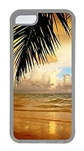 iPhone 5C Case, iPhone 5C Cases - Landscapes sea 5 Custom Design iPhone 5C Case Cover - PolycarbonatešC Transparent
