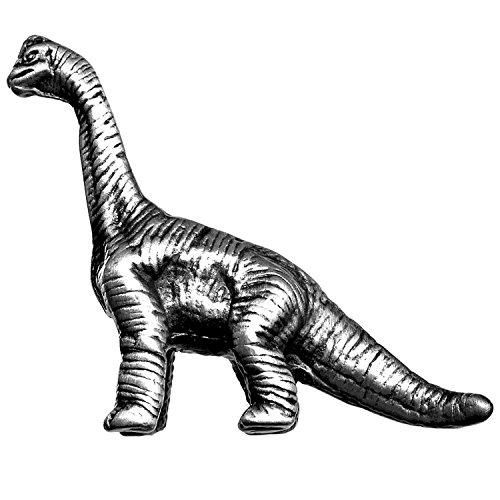 (Big Sky Hardware Sierra Lifestyles Brachiosaurus Dinosaur Knob, D3, Left Facing, Pewter)