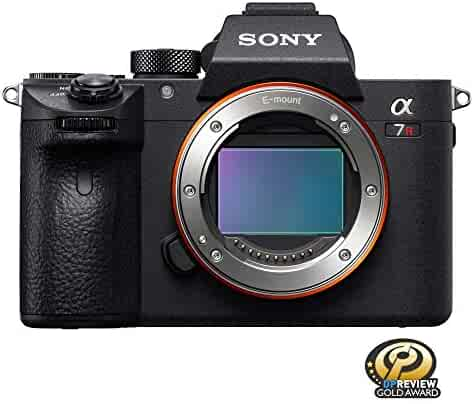 Sony a7R III Mirrorless Camera: 42.4MP Full Frame High Resolution Mirrorless Interchangeable Lens Digital Camera with Front End LSI Image Processor, 4K HDR Video and 3