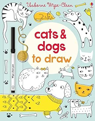 Wipe-clean Cats And Dogs To Draw
