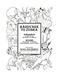 Aardvark to Zebra: Animals of Africa Coloring Book