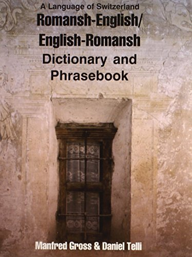 Romansh-English/English-Romansh Dictionary and Phrasebook (Dictionary and Phrasebooks)...