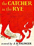 BOOK COVER CATCHER RYE SALINGER CLASSIC RED HORSE CITY NOVEL ART PRINT BB7683
