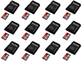12 x Quantity of Microsoft Lumia 735 32GB Micro SD Memory Card SDHC Ultra Class 10 with Adapter up to 48MB/s - FAST FREE SHIPPING FROM Orlando, Florida USA!