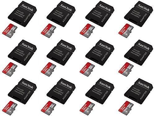 12 X Quantity Of GoPro Hero 3 Black 32GB Micro SD Memory Card SDHC Ultra Class