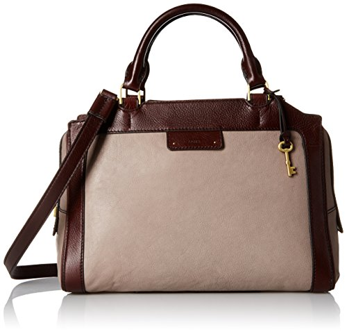 Fossil-Logan-Large-Satchel-Grey