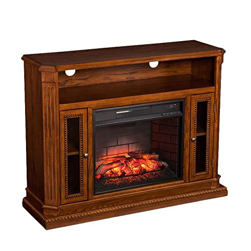 Southern Enterprises Atkinson Infrared Electric Fireplace, used for sale  Delivered anywhere in USA