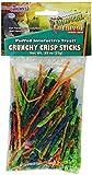 F.M. Brown's Tropical Carnival Crunchy Crisp Sticks Interactive Treat for Pet Birds, 0.89-oz Package