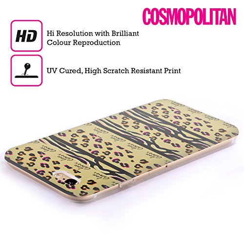 Official Cosmopolitan Stripes Animal Print Soft Gel Case for Apple iPhone 6 Plus / 6s Plus
