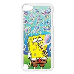 iPod Touch 5 Case White Sponge Bob Cmmz