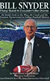 Bill Snyder, Bill Snyder and Mark Janssen, 0975876961