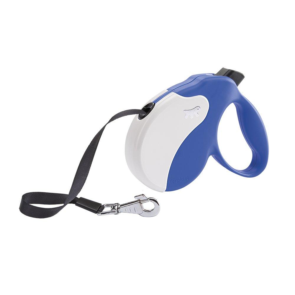 Ferplast Amigo Tape Dog Lead, bluee, Medium
