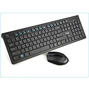wireless keyboard and mouse combo 2 4ghz wireless chocolate keycaps optical mouse. Black Bedroom Furniture Sets. Home Design Ideas