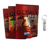 Male Enhancement Energy Booster Pills with Keychain, Geisha Pro (12 Pills)