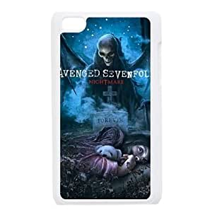 Avenged Sevenfold iPod Touch 4 Case White PhoneAccessory LSX_699150