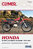 Honda XL/XR75, XL/XR80 and XL/XR100, 1975-1991, Clymer Publications Staff and Penton Overseas, Inc. Staff, 1599693151