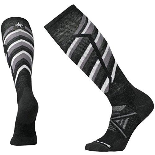 Smartwool Leg Warmer (Smartwool Men's PhD Ski Medium Pattern Black Socks XL (Men's Shoe 12-14.5))