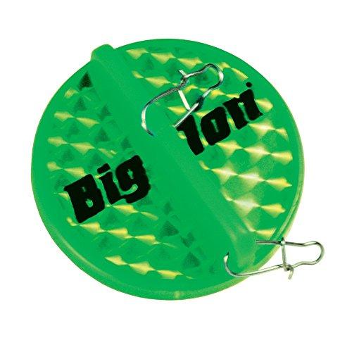 BIGJ DD03902 Mini Diver Disk Green Fishing Downriggers, Green