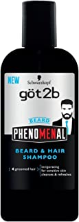product image for Got2b PhenoMENal Beard and Hair Shampoo, 8.4 Ounce