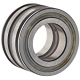 INA SL045016PP Cylindrical Roller Bearing, Double Row, Fixed, Normal Clearance, Open End, Double Sealed, Oil Hole, Metric, 80mm ID, 125mm OD, 60mm Width, 3200rpm Maximum Rotational Speed, 75000lbf Static Load Capacity, 46500lbf Dynamic Load Capacity