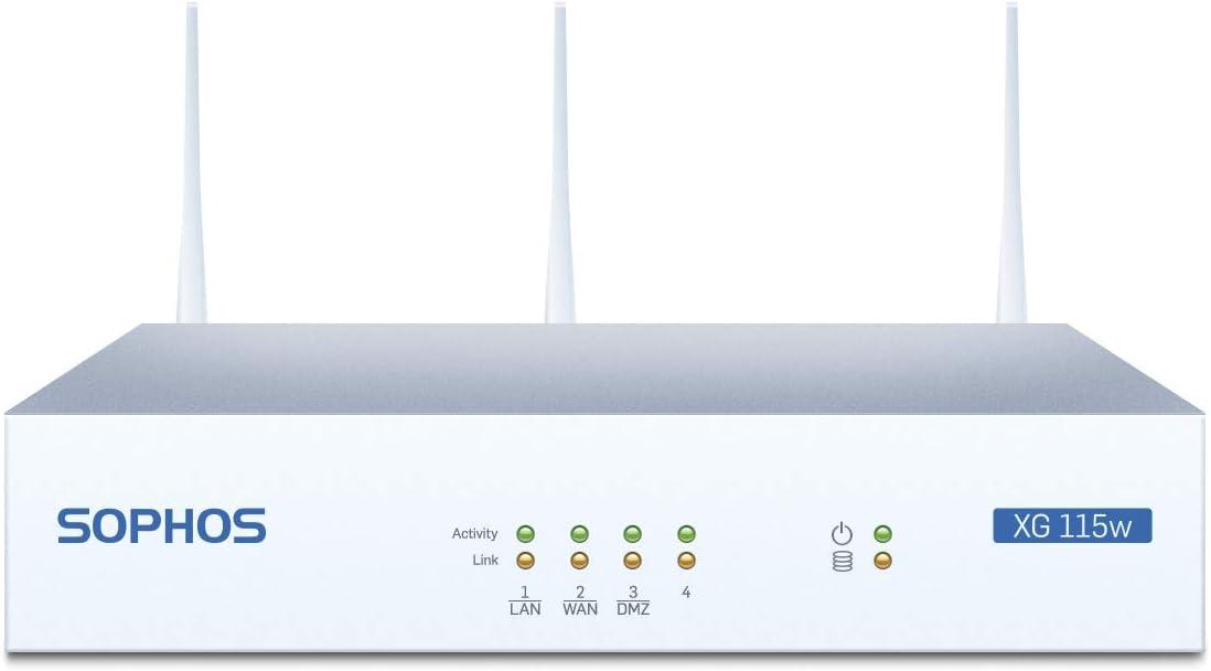 Amazon.com: Sophos XG 115W Rev.2 Wireless Next-Gen VPN Firewall Appliance: Computers & Accessories