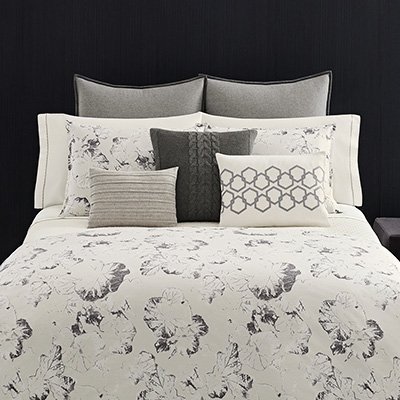 Vera Wang Nordic Knit Decorative Pillow