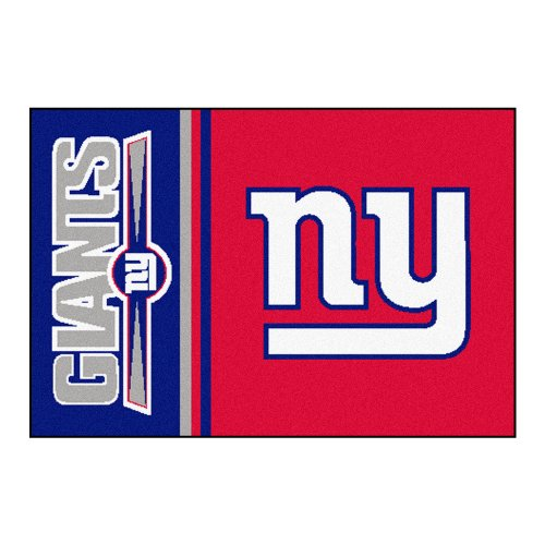 FANMATS NFL New York Giants Nylon Face Starter Rug