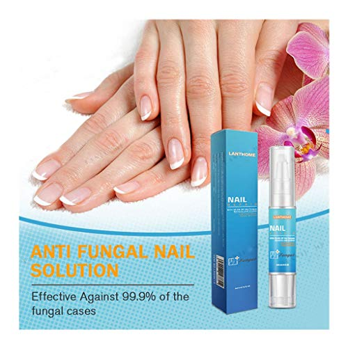 (Iusun Nail Care Regen Repair Effective Fragile Bio-Pen 1/2PCS Herbal Formula Safe And Less Painful No Need Cover Apply To Grey Nails&Care Nails&Bright Nails (Blue-1pc))