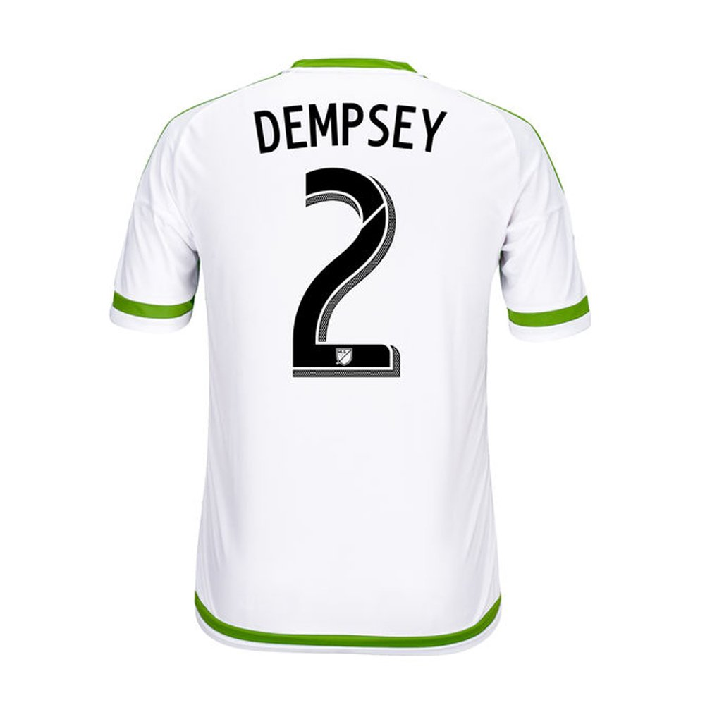 Adidas DEMPSEY #2 Seattle Sounders FC Away Soccer Jersey 2015-16 /サッカーユニフォーム シアトルサウンダーズFC アウェイ用 デンプシー 背番号2 2015-16 B01BZAFJJK   Large