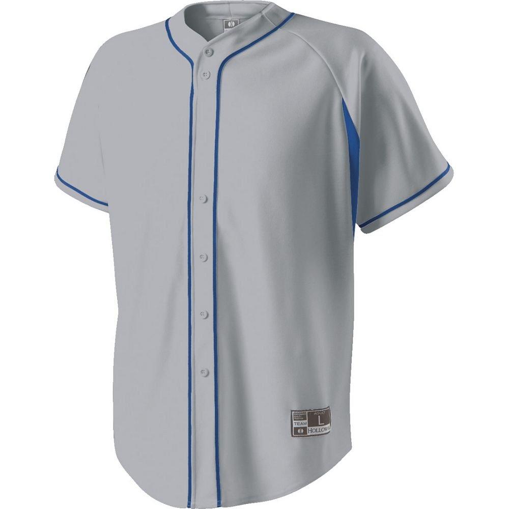 Holloway Youth Ignite野球ジャージー B00GN9AF2K Medium|ブルー ブルー Medium