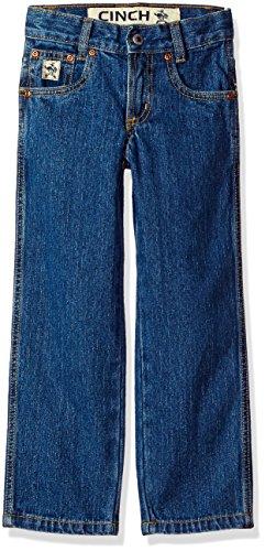 (Cinch Boys Original Fit Slim Jean, Medium Stone wash 18S)