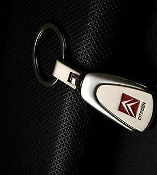 Llavero de lujo cromado Automotiva Citroen, para modelos de ...